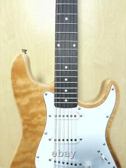 12 String Natural Solid Basswood TOP ELECTRIC GUITAR+Gig Bag HSST 1910SQ