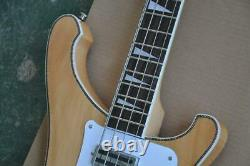 4 Strings Electric Bass Guitar With White Pickguard rosewood Fingerboard, neck Th