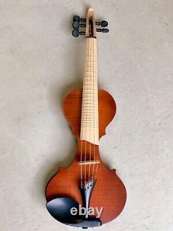 5 String Fretted Electric Violin EVL Quartet Series