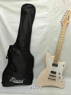 6 String Electric Guitar, Free Gig Bag, Brand New