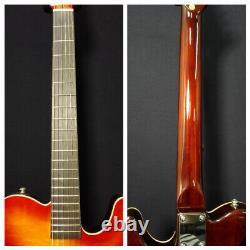 Baracuda Nylon String Electric Guitar, Solid Mahogany+Free Bag SCC-100 Sunburst