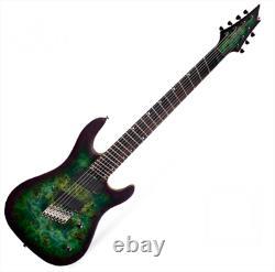 Cort KX500MS SDG Electric Guitar Multi-Scale 7 Strings Dust Black EMG 707 Pickup