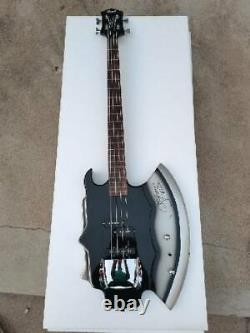 Cort Style Axe Bass Electric Guitar 4 String Signature Gene Simmons KISS