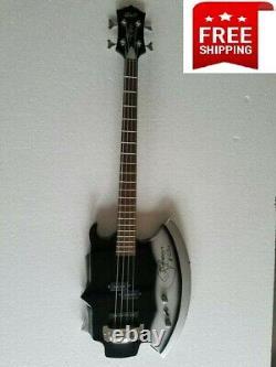 Cort Style Axe Bass Electric Guitar 4string Signature Gene Simmons Kiss Firehawk