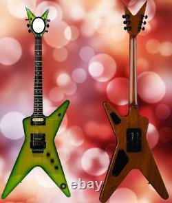 Custom Electric Guitar 6 Strings DimeBag Darrell Signature Dime Slime replica