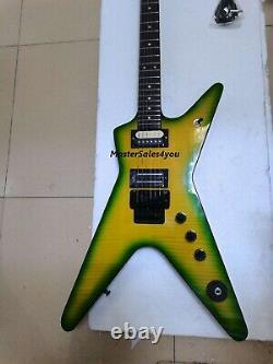 Custom Electric Guitar DimeBag Darrell Signature Dime Slime 6 Strings Free Ship