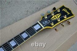 Custom Metallica Electric Guitar James Hetfield Iron Cross Aged Model Mahogany