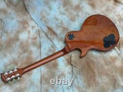 Custom Shop 1959 R9 VOS Light Brown burst Jimmy Page Electric Guitar 6 Strings