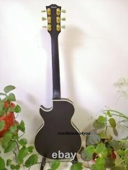 Custom Single Pickup Black Beauty LP Electric Guitar 6 Strings FREE SHIPPING