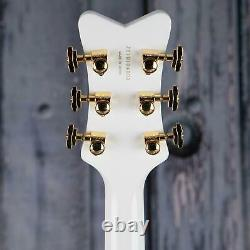 Custom White Falcon Hollow Body 6 Strings Electric Guitar Chinese Edition New