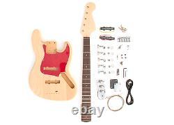 DIY Electric Bass Guitar Kit 5 String J Bass Build Your Own