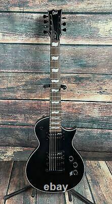ESP/LTD EC-257 7 String Electric Guitar Satin Black