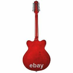 Eastwood Guitars Classic 12 Fireburst 12-string Semi Hollowbody Electric NEW