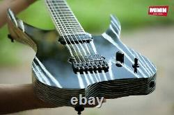 Electric guitar MININ GriefBringer 7 (27) baritone, 7 string, custom made