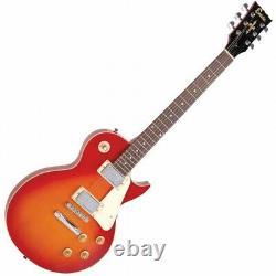 Encore E99 6 String Electric Guitar Les Paul CHERRY SUNBURST