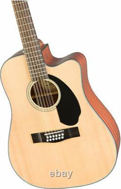 Fender CD-60SCE-12 Acoustic-Electric Guitar, 12 String
