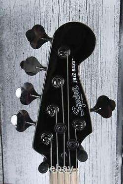 Fender Squier Contemporary Active Jazz Bass HH V 5 String Electric Bass Guitar