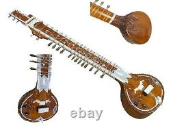 Flat Sitardesigner Tun Woodravi Shankar Style With Cig Bag, Mizrabs & Strings