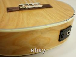 Freshman UKASHTE8 Ash 8-String Tenor Ukulele with Pickup and Tuner