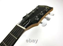 GOLD TONE 6-STRING ELECTRIC BANJO GUITAR with GIG BAG DELUXE BANJITAR GT-500