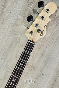 G&L Tribute SB-2 4-String Electric Bass Guitar Brazilian Cherry Black Frost