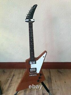 Gibson Explorer electric guitar, 2019, new strings, Y/Tube, free p+p, excellent