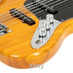 Glarry Gjazz Electric 5 String Bass Guitar