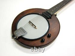 Gold Tone 6-string Solid Body Electric Banjitar Banjo Guitar & Bag Eb-6