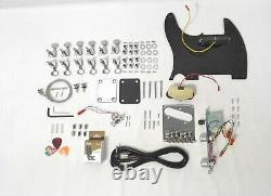 HSTL 19100S Complete No-Soldering 12-String Electric Guitar DIY Kit, S-S Pickups