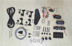 Haze HSE4 19100 Complete No-Soldering 4-String Electric Bass Guitar DIY Kit