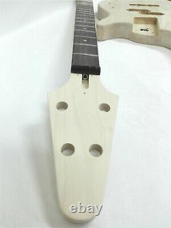 Haze HSE4 19100 No-Soldering Design 4-String Electric Bass Guitar DIY Kit