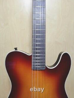 Haze Solid Body Nylon String Electric Guitar, Piezo Pickups+Free Bag MRC601EQCS