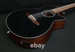 IBANEZ AEG50N BKH Acoustic-Electric CLASSIC CUTAWAY NYLON Strings Active EQ