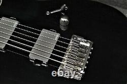 Ibanez Iron Label Rgib21 Bk Baritone 6 String Electric Gloss Black, Emg Pickups