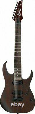 Ibanez RG7421-WNF 7-String Electric Guitar, Walnut Flat