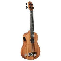 Kala UBASS-NOMAD-FS Nomad Acoustic-Electric U-Bass with Deluxe Padded Gig Bag