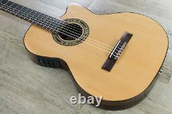 Kremona Guitars Fiesta F65CW TLR Classical Acoustic Electric Guitar Nylon String