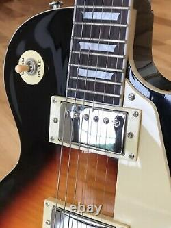 Lp Style Electric Guitar Tobacco Burst 6 String Brand New