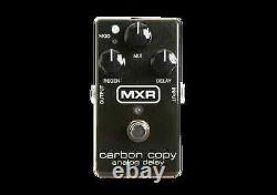 M169 Carbon Copy Analog Delay Electric Guitar Effects Fx Pedal Jim Dunlop Mxr