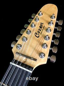 NEW 2020 NATURAL TELE STYLE 12 STRING ELECTRIC GUITAR With GIG BAG LIGHTWEIGHT
