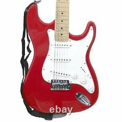 NEW! ST 6 String Full Size Electric Guitar Set with 10W Amp