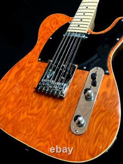 NEW TELE STYLE 12 STRING ELECTRIC GUITAR-BEAUTIFUL BIRDSEYE-With GIG BAG