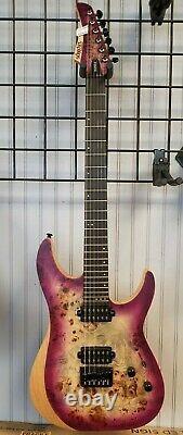 NEWithREAD - Schecter Guitar Reaper 6 Electric 6 String Guitar Aurora Burst