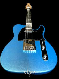 New 12 String Tele Style Vintage Pelham Blue Metallic Electric Guitar