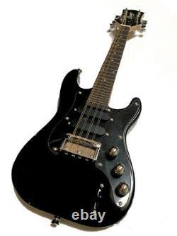 New Electric 8 String Mando-caster Solid Body Cash Gloss Black Finish Mandolin