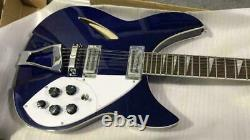 New Ricken-bck 12 String In Blue Electric Guitar 330 Chinese Free Shipping