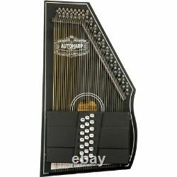 Oscar Schmidt OS73CE 1930's Reissue 21-Chord Electric Autoharp, Black
