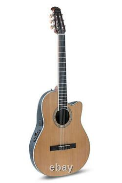 Ovation Celebrity Acoustic Electric Classical Guitar Nylon String Natural