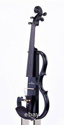 Paul Michael Stanton Professional Electric Silent Violin. Set up. Ready to play