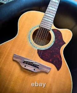 RARE Takamine 12 String Accoustic Electric Guitar Model'G' / EG 523SC-12